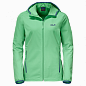Женские куртка jack wolfskin turbulence jacket women